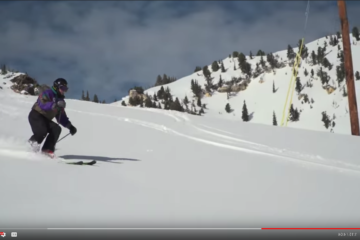 100 Year-old Skier