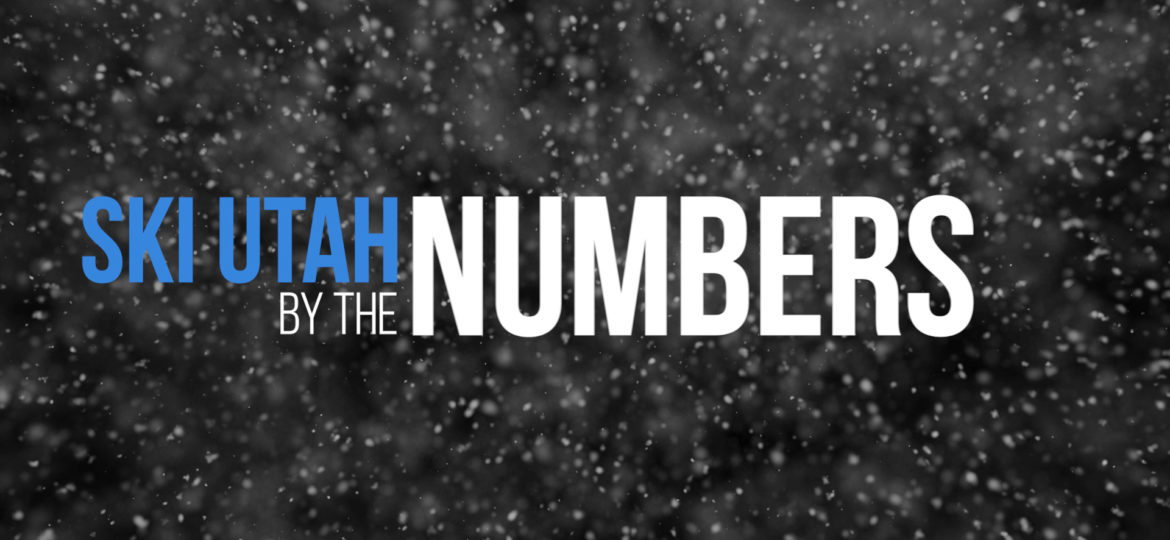 Ski Utah By The Numbers