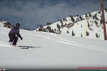 100 Year-old Skier