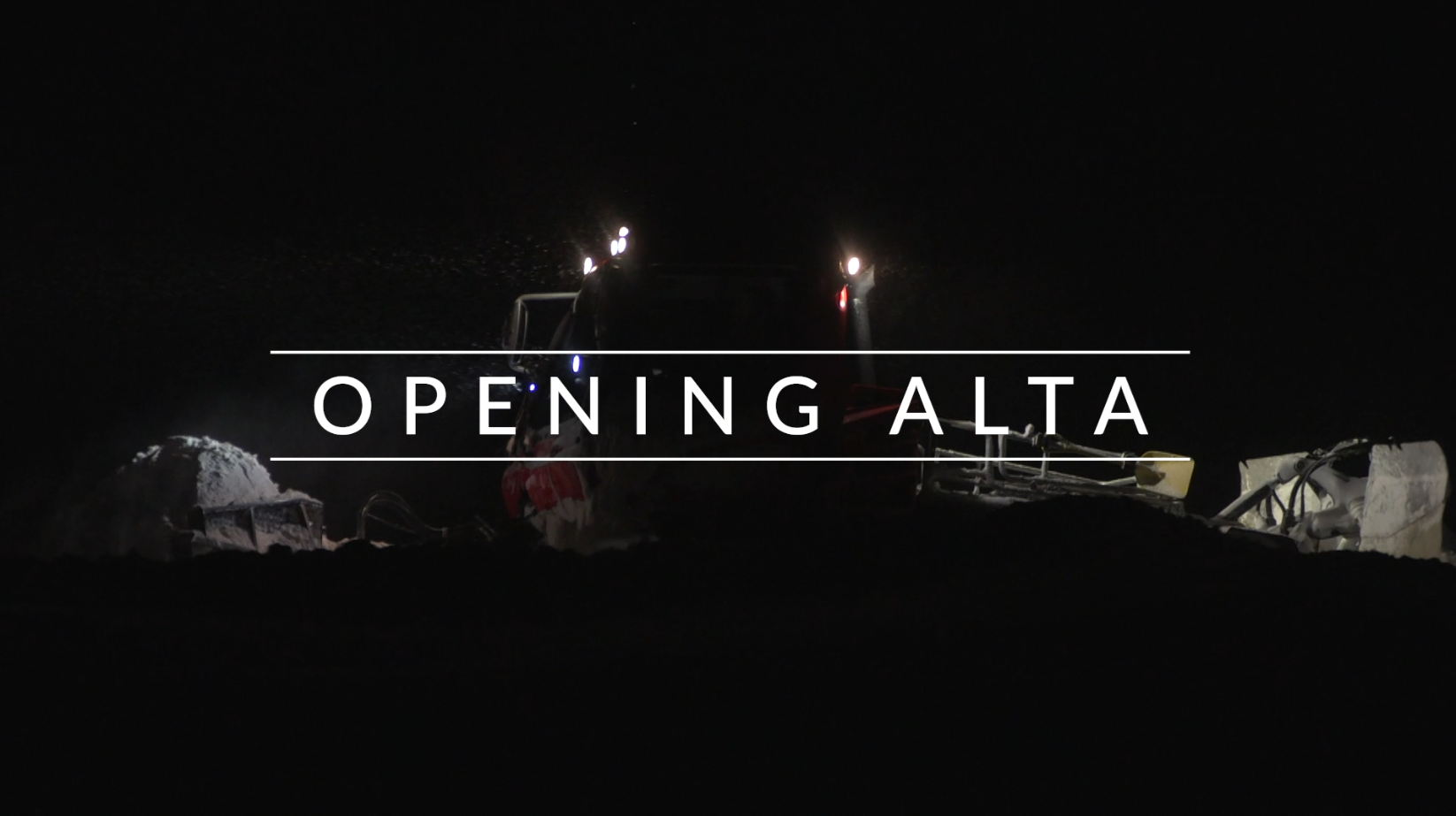 Opening Alta video