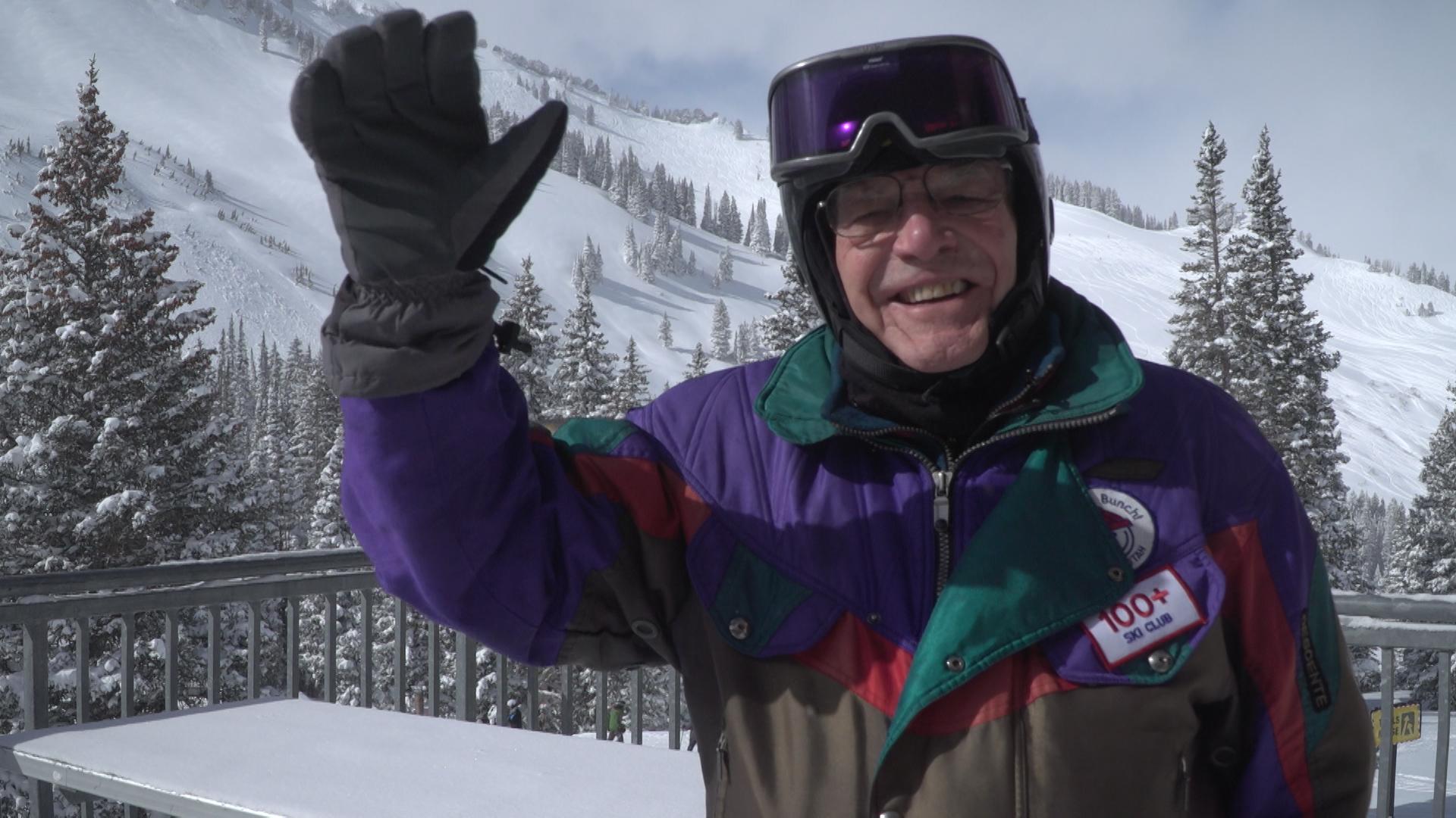 101 Year-Old Skier