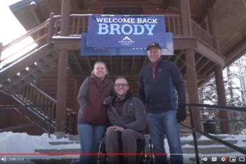 Brody Broderick Adaptive Skiing